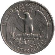 Quarter Dollar,  Liberty,  ln Godwe Trust,  1974,  United States of Am